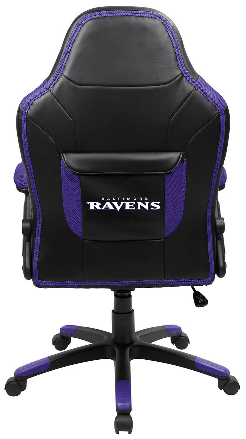 Baltimore Ravens Oversized Gaming Chair on