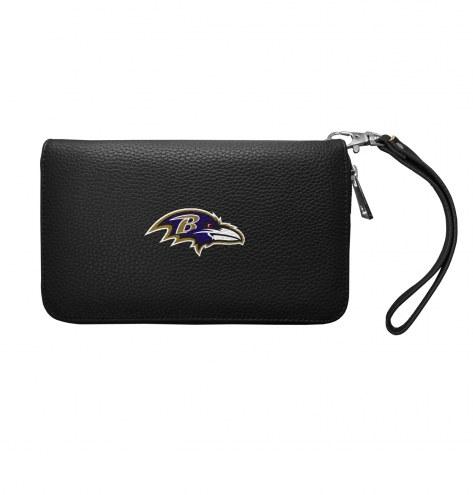 Baltimore Ravens Pebble Organizer Wallet