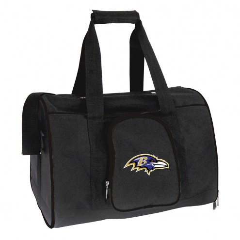 Baltimore Ravens Premium Pet Carrier Bag