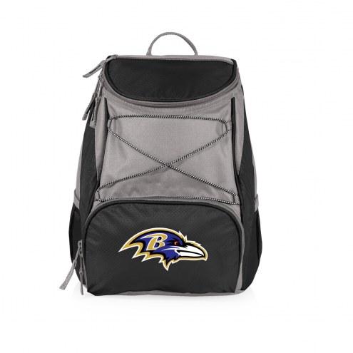 Baltimore Ravens PTX Backpack Cooler