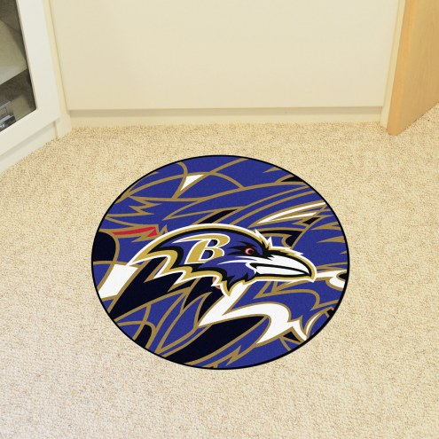 Baltimore Ravens Quicksnap Rounded Mat