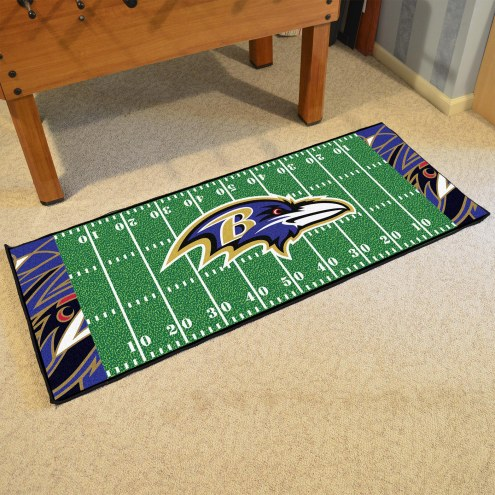 Baltimore Ravens Quicksnap Runner Rug