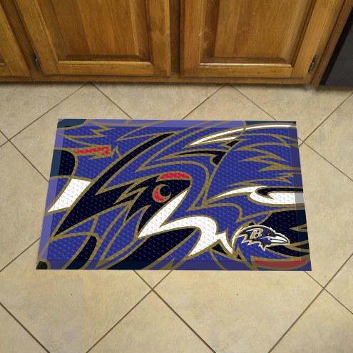 Baltimore Ravens Quicksnap Scraper Door Mat