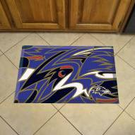 Baltimore Ravens Quicksnap Scraper Door Mat