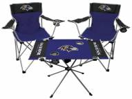 Baltimore Ravens Table & Chairs Set