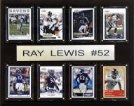"""Baltimore Ravens Ray Lewis 12"""" x 15"""" Card Plaque"""