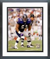 Baltimore Ravens Ray Lewis Action Framed Photo