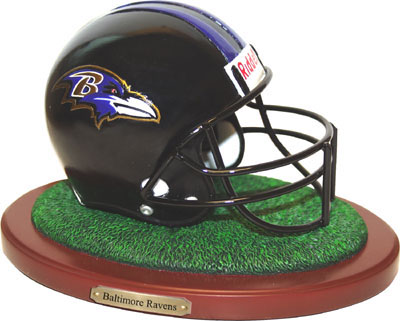 Baltimore Ravens Collectible Football Helmet Figurine