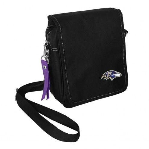 Baltimore Ravens Ribbon Satchel