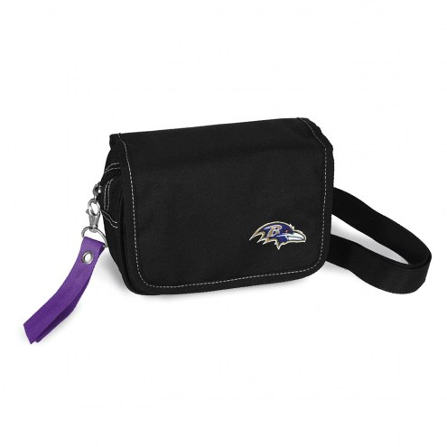 Baltimore Ravens Ribbon Waist Pack Purse