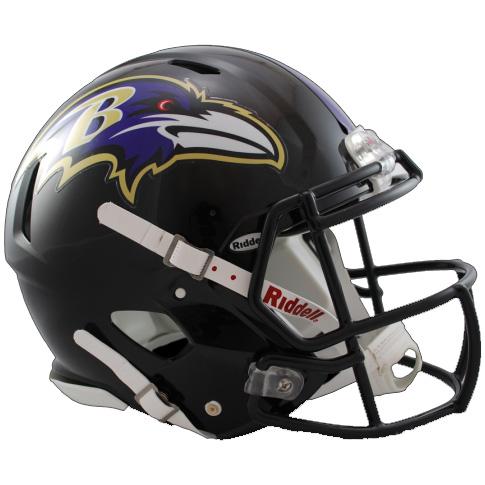 Baltimore Ravens Riddell Speed Full Size Authentic Football Helmet