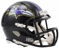 Baltimore Ravens Riddell Speed Mini Collectible Football Helmet