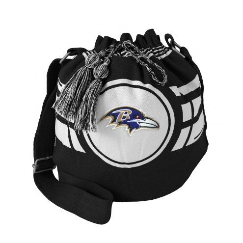 Baltimore Ravens Ripple Drawstring Bucket Bag