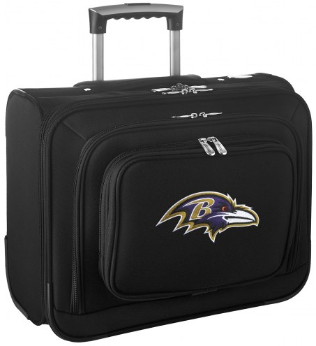Baltimore Ravens Rolling Laptop Overnighter Bag