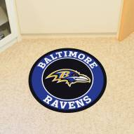 Baltimore Ravens Rounded Mat