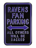 Baltimore Ravens Sacked Parking Sign