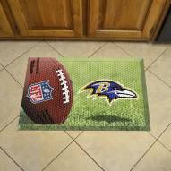 Baltimore Ravens Scraper Door Mat