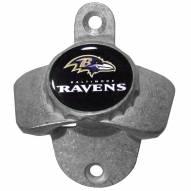 Baltimore Ravens Wall Mounted Bottle Opener