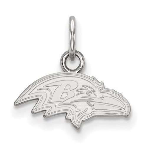 Baltimore Ravens Sterling Silver Extra Small Pendant