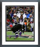 Baltimore Ravens Steve Smith Touchdown Catch 2014 Playoff Action Framed Photo