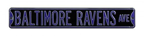 Baltimore Ravens Street Sign