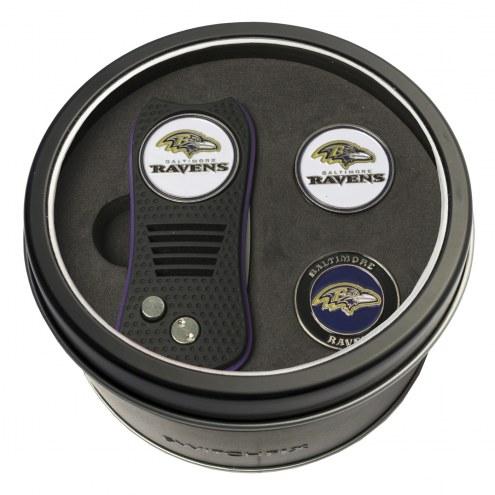 Baltimore Ravens Switchfix Golf Divot Tool & Ball Markers