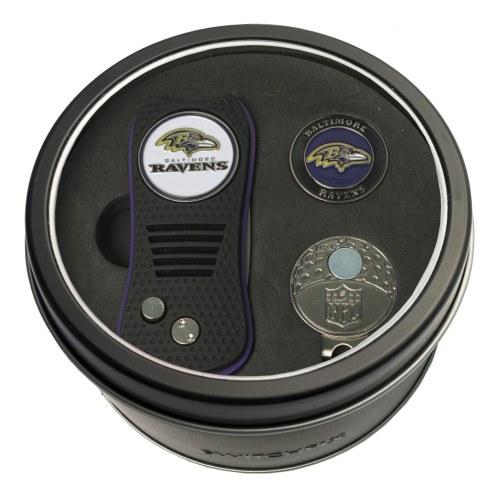 Baltimore Ravens Switchfix Golf Divot Tool, Hat Clip, & Ball Marker
