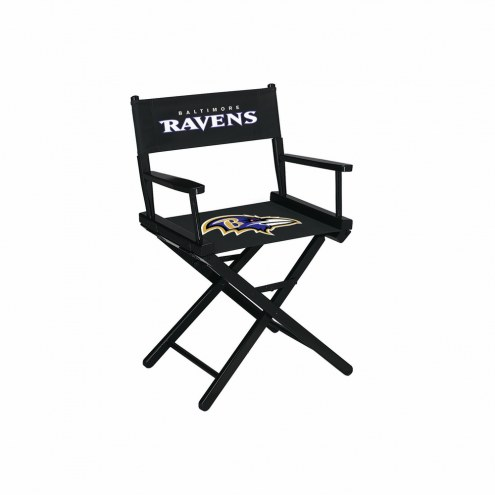 Baltimore Ravens Table Height Director's Chair