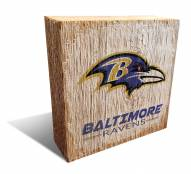 Baltimore Ravens Team Logo Block