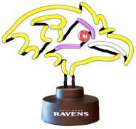 Baltimore Ravens Team Logo Neon Lamp