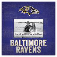 "Baltimore Ravens Team Name 10"" x 10"" Picture Frame"