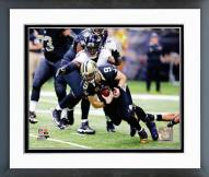 Baltimore Ravens Terrell Suggs 2014 Action Framed Photo