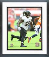 Baltimore Ravens Terrell Suggs Action Framed Photo