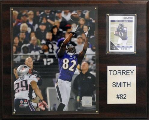 "Baltimore Ravens Torrey Smith 12 x 15"" Player Plaque"