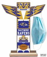 Baltimore Ravens Totem Mask Holder