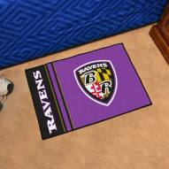 Baltimore Ravens Uniform Inspired Starter Rug