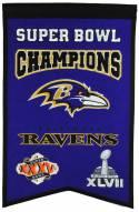 Baltimore Ravens Champs Banner