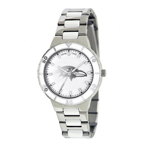 Baltimore Ravens Womens Pearl Watch