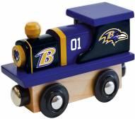 Baltimore Ravens Wood Toy Train