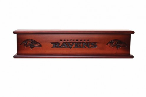 Baltimore Ravens Wood Wall Shelf