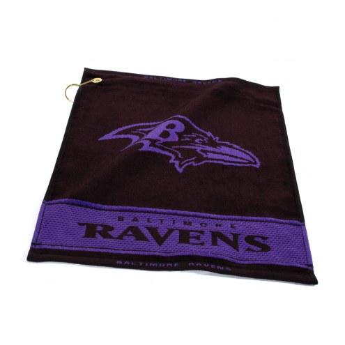 Baltimore Ravens Woven Golf Towel