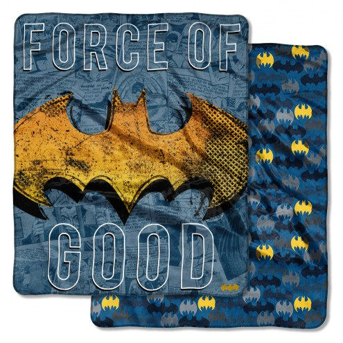 Batman Great Hero Cloud Throw Blanket