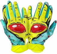 Battle Sports Alien Adult Football Receiver Gloves