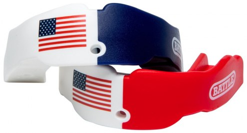 Battle Sports American Flag Youth Mouthguard - 2 Pack