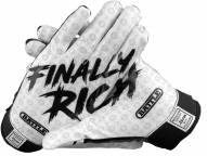 Battle Sports B-Money Finally Rich Adult Football Receiver Gloves