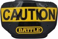 Battle Sports Caution Adult Football Back Plate