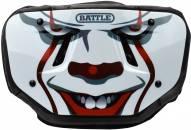 Battle Sports Clown Chrome Adult Football Back Plate