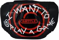 Battle Sports I Want to Play a Game Adult Football Back Plate