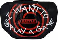 Battle Sports I Want to Play a Game Youth Football Back Plate