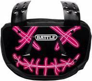Battle Sports Nightmare Chrome Adult Football Back Plate